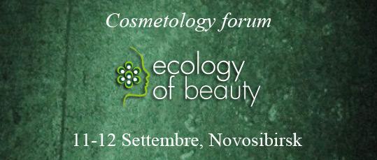 cosmetology forum ecology of beauty 11 12 settembre, Novosibirsk
