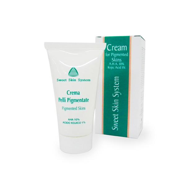 Crema per pelli pigmentate A.H.A. 10% (Sweet Skin Home..