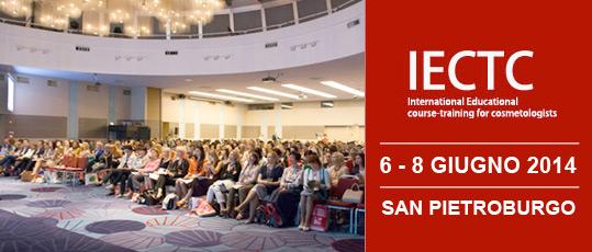 IECTC International Educational course-training for cosmetologists 6-8 giugno 2014 San pietroburgo