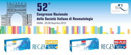 52° Congresso Nazionale della Società Italiana di Reumatologia, Rimini 25 - 28 Novembre 2015