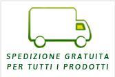 Spedizione gratuita per tutti i prodotti. Per gli iniettivi spedizione gratuita per importi superiori a 305 Euro. Spedizione standard 12 Euro